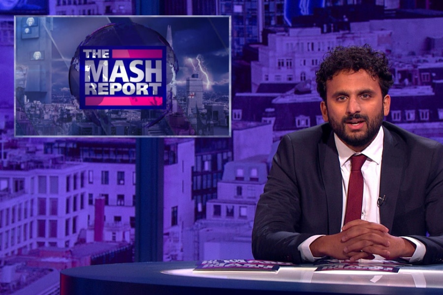'Post-truth is an intellectual label for bulls**t' – Nish Kumar on The Mash Report